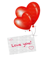 love you hearts coeur rouge deco