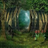 forest wald fantasy paysage landscape fond background spring summer forêt fantaisie tube