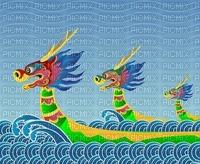 image encre couleur dragon festival texture edited by me