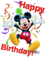 happy birthday mickey mouse deco