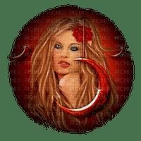 mujer rojo by EstrellaCristal