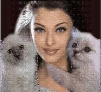 femme avec chat.Cheyenne63