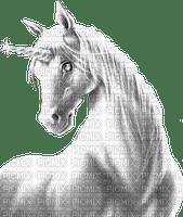unicorn white licorne blanc