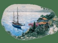 Kaz_Creations Paysage Scenery Boat Ship