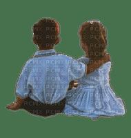 children couple enfants