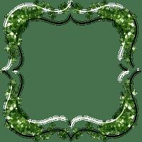 green frame leaves cadre vert feuilles