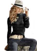 woman in hat bp