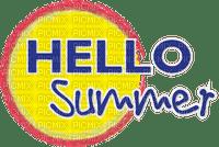 Kaz_Creations Logo Text Hello Summer