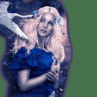 dolceluna woman winter fantasy bird swan
