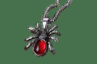 VanessaVallo _crea-gothic necklace spider