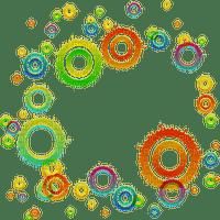 abstract abstrakt abstrait deco tube  art effect effet effekt kunst  overlay fond background colorful circle clipart kreise cercles
