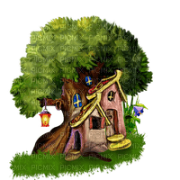 TREE FAIRY HOUSE