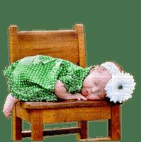 Kaz_Creations Baby Enfant Child Girl Sleeping On Chair