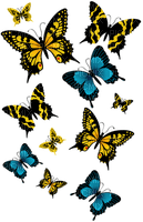 image encre la nature printemps papillon edited by me