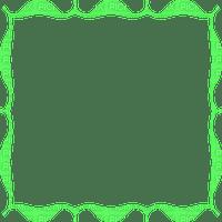 cadre vert frame green