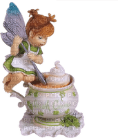 fairy fee deco tube cup coffee tea the