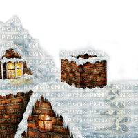 housetop toit de la maison chimney schornstein cheminée cheminee   roof toit top dach hausdach haus santa claus    christmas noel xmas weihnachten Navidad рождество natal   image  fond background winter hiver snow neige house paysage tube