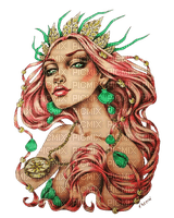 kikkapink woman fantasy mermaid