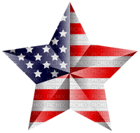 Kaz_Creations America 4th July Independance Day American Star