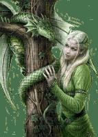 dragon woman femme dragon