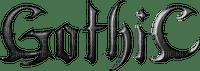 tube texte : gothic