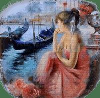 femme avec bateau.Cheyenne63
