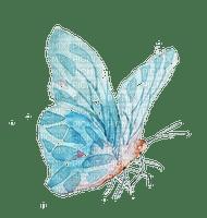 Papillon.Aquarelle.Butterfly.Blue.Victoriabea