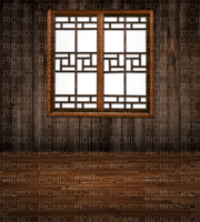 CUT OUT WINDOW BACKGROUND