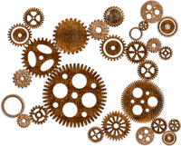 steampunk deco