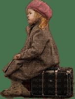kid and suitcase, sunshine3