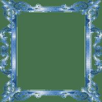blue frame deco ornament  cadre bleu