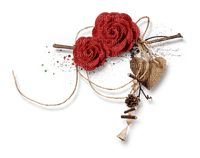 red rose rose rouge deco