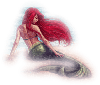 sirene MERMAID RED HAIR
