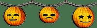 soave deco halloween pumpkin border black