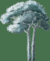 tube arbre bleu