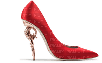 Shoe Red Gold - Bogusia