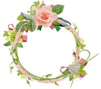 Pink Circle Frame