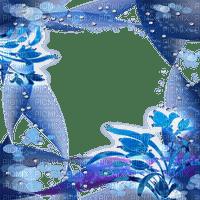 blue fantasy frame bleu cadre fantaisie