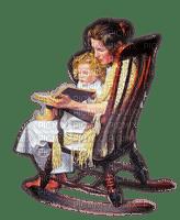 Rena Vintage Woman Child Frau Kind