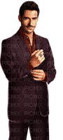 Man Lucifer Movie Brown Maroon - Bogusia