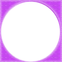 purple circle frame