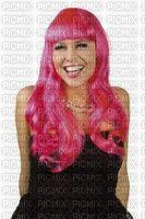 perruque rose