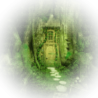 fairy home forest house