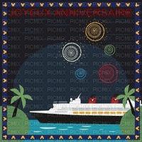 multicolore image encre joyeux anniversaire vacances mariage paysage marin bateau vert edited by me