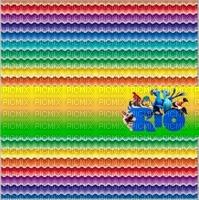image encre couleur effet arc en ciel Rio edited by me