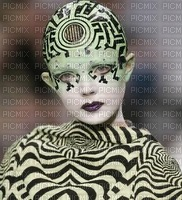 image encre femme fashion cirque edited by me