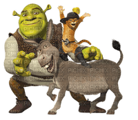 shrek  movie CAT DONKEY