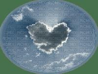 tube nuage en coeur