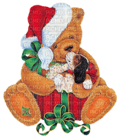 christmas noel teddy bear