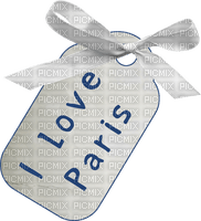 Kaz_Creations Paris Gift Tag Love